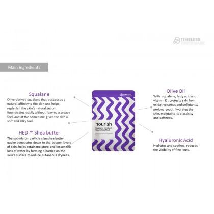 TTM Nourish-Squalane Enriched Nourishing Mask (5 Sheets)
